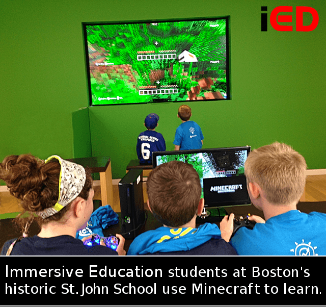 Minecraft Clubs – Immersive Education