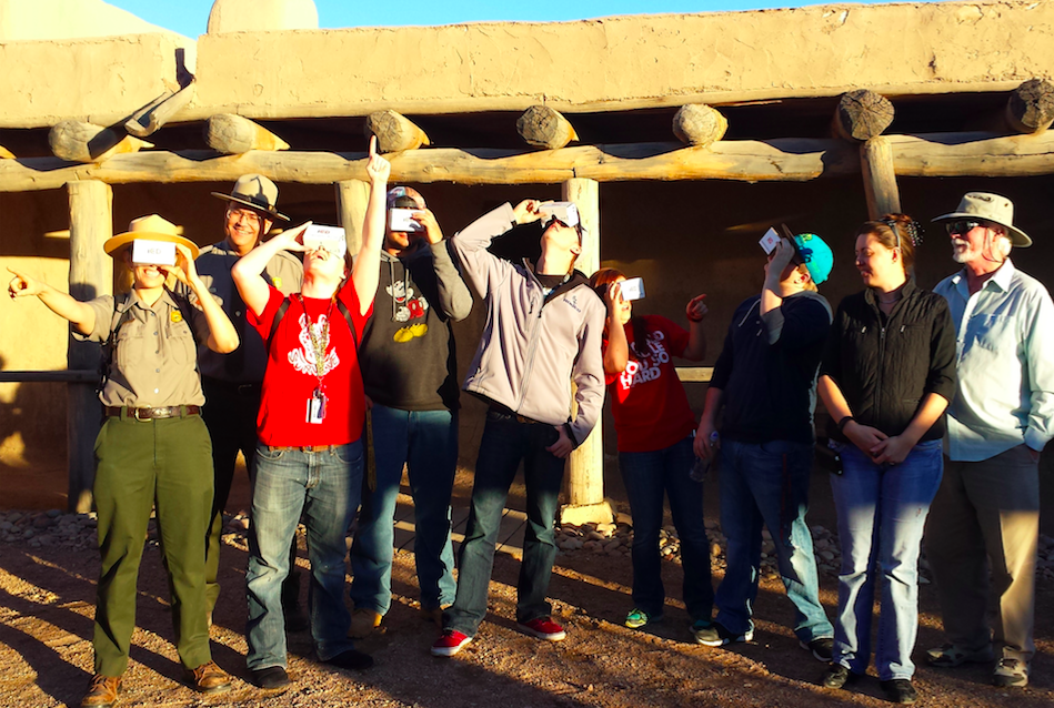 USA Department of the Interior (DOI) National Park Service (NPS) rangers work together with iED Club college students and high school students to recreate historic Bent's Old Fort in Virtual Reality for American culture & history. See http://ImmersiveEducation.org/fort