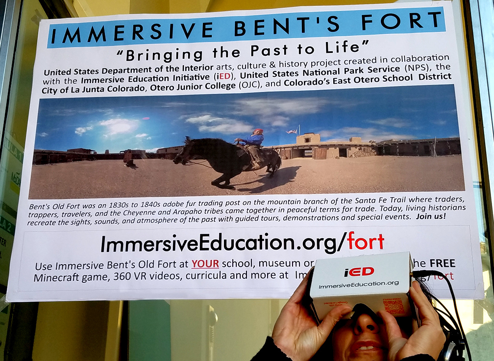 Hands-on with Immersive Bent's Old Fort - Immersive Education Summit - Immersive Learning