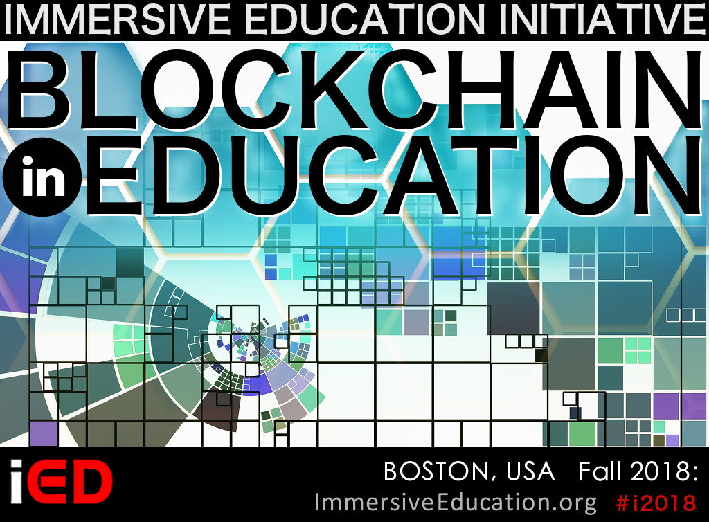 Blockchain in Education Summit - Immersive Education Summit - Immersive Learning